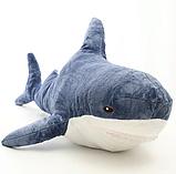 Мягкая игрушка акула 60 см, фото 3