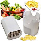 Устройство для нарезания картошки фри Lot de coupe legumes, фото 3