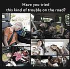 ОПТ Подушка-подголовник для сиденья Car Sleep Headrest Регулируемая спальная для детей и взрослых в авто, фото 9
