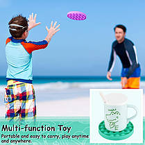 Сенсорная игрушка антистресс ПУШ АП пузырь для взрослых и детей Pop It (круг), фото 2