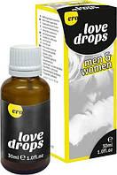 Возбуждающие капли для двоих ERO Love Drops, 30 мл
