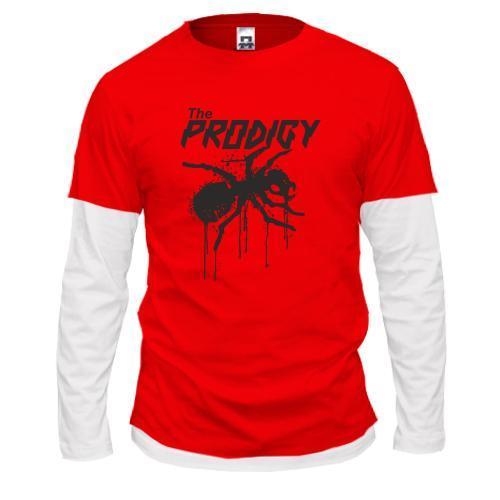 Комбинированный лонгслив the Prodigy.