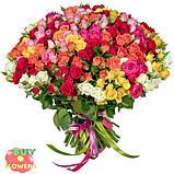 Розы микс спрей, фото 3