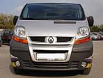 Renault Trafic 2001-2015 рр. Передня губа (під фарбування)