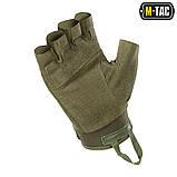Перчатки беспалые Assault Tactical Mk.3 Olive, M-Tac, фото 3
