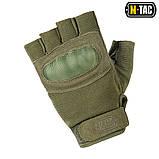 Перчатки беспалые Assault Tactical Mk.3 Olive, M-Tac, фото 2