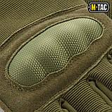 Перчатки беспалые Assault Tactical Mk.3 Olive, M-Tac, фото 4
