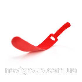 Стяжки на липучці 12 * 200мм, червоні