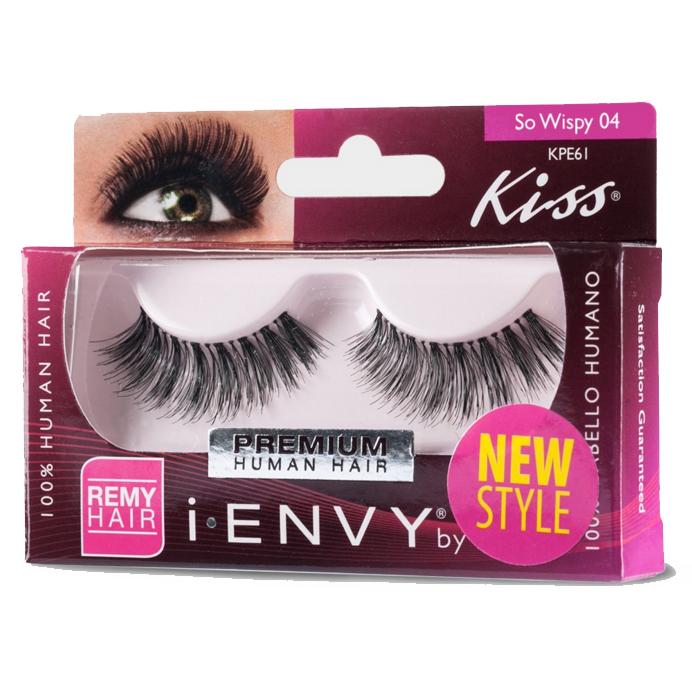 Накладные ресницы Kiss™ I Envy Premium So Wispy04