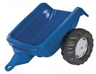 Прицеп на 2-х колесах Rolly Toys rollyKidTrailer (синий)