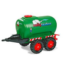 Прицеп - цистерна Rolly Toys rollyTanker(зеленый)