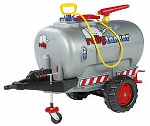 Прицеп - цистерна с помпой Rolly ToysrollyTanker (серый)