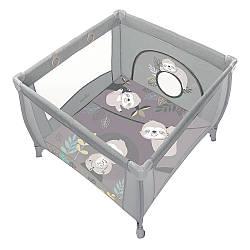 Дитячий манеж Baby Design Play Up 2020 (07 Light Gray)