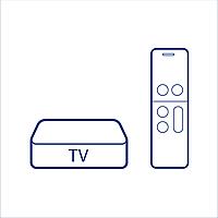 ТВ Приставка X96H Double HDMI 4/32 Цвет Чёрный
