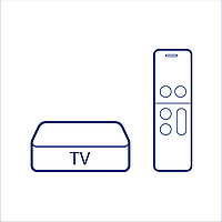 ТВ Приставка X96H Double HDMI 4/64 Цвет Чёрный
