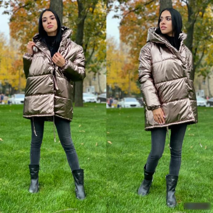 Куртка зефирка металік VS163