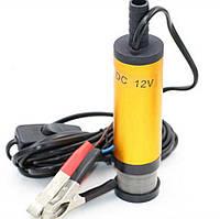 Погружной насос для перекачки топлива бензина дизеля воды помпа 12V