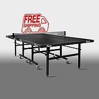 Теннисный стол для помещений «Феникс» Master Sport M19 черный