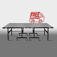 Теннисный стол для помещений «Феникс» Master Sport M19 антрацит