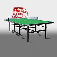 Теннисный стол для помещений «Феникс» Master Sport M25 зеленый