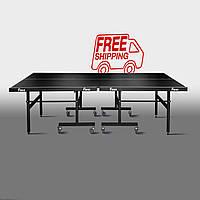 Теннисный стол для помещений «Феникс» Master Sport M25 черный