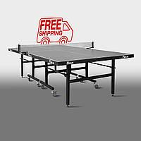 Теннисный стол для помещений «Феникс» Master Sport M25 антрацит