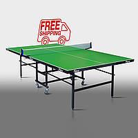 """Теннисный стол для помещений """"Феникс"""" Junior зеленый"""