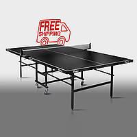 """Теннисный стол для помещений """"Феникс"""" Junior черный"""
