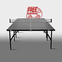 Теннисный стол для помещений «Феникс» Basic Sport M16 антрацит