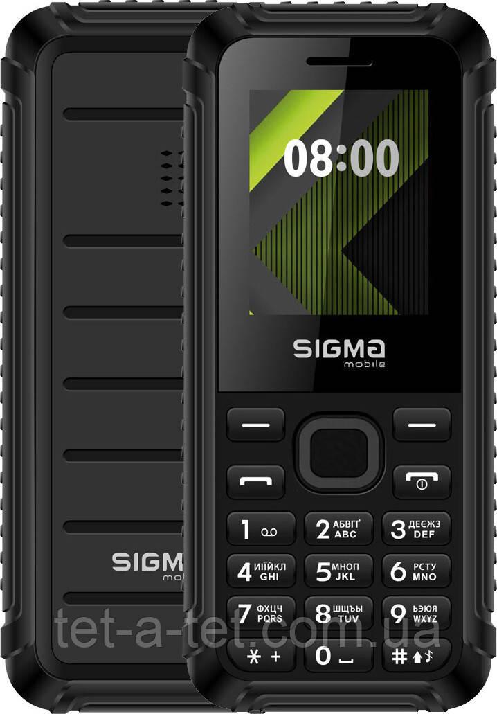 Мобільний телефон Sigma Mobile X-style 18 Track Black
