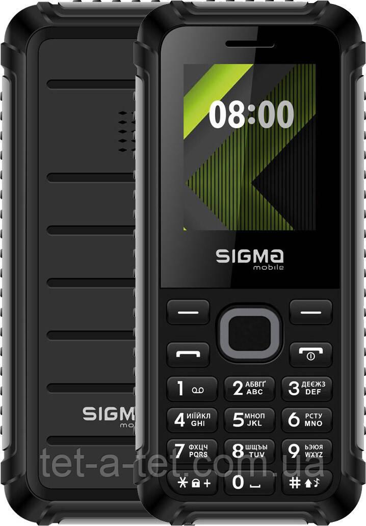 Мобильный телефон  Sigma Mobile X-style 18 Track  Black-Grey