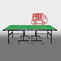 Теннисный стол для помещений «Феникс» Master Sport M19 зеленый