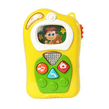 Развивающая игрушка Камерофон Keenway Желтый 31321, КОД: 1676559