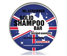 Твёрдый шампунь Australian Trip Mr.SCRUBBER  70г