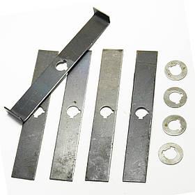 Комплект ножей с шайбами для зернодробилки Эликор-1, исп-1, исп-2, исп-4