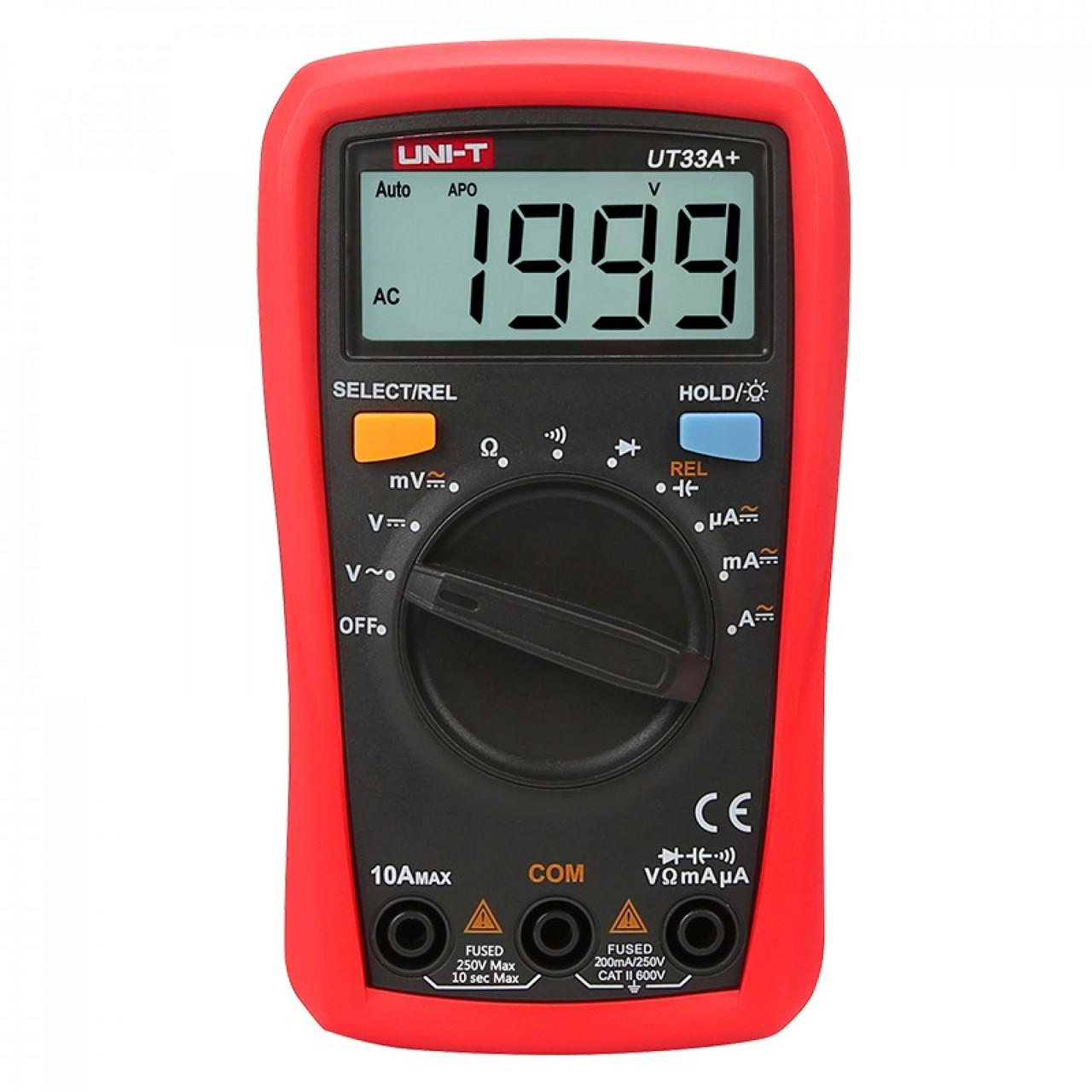 Мультиметр UNI-T UT33A+