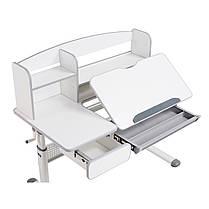 Комплект для школьника парта Cubby Rimu Grey + кресло для дома FunDesk Primo Grey, фото 3