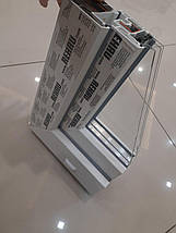 Трехстворчатое окно с фрамугой Rehau 60, фото 3