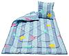 """Детское антиаллергенное одеяло 110х140 с подушкой 40х40 """"Чарiвний сон"""" (210533) Демисезонное детское одеяло"""