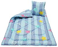 """Детское антиаллергенное одеяло 110х140 с подушкой 40х40 """"Чарiвний сон"""" (210533) Демисезонное детское одеяло, фото 1"""