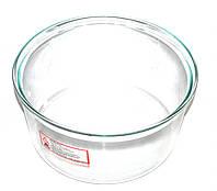 Скляна чаша для аерогрилю 12L (D=330mm,H=165mm)