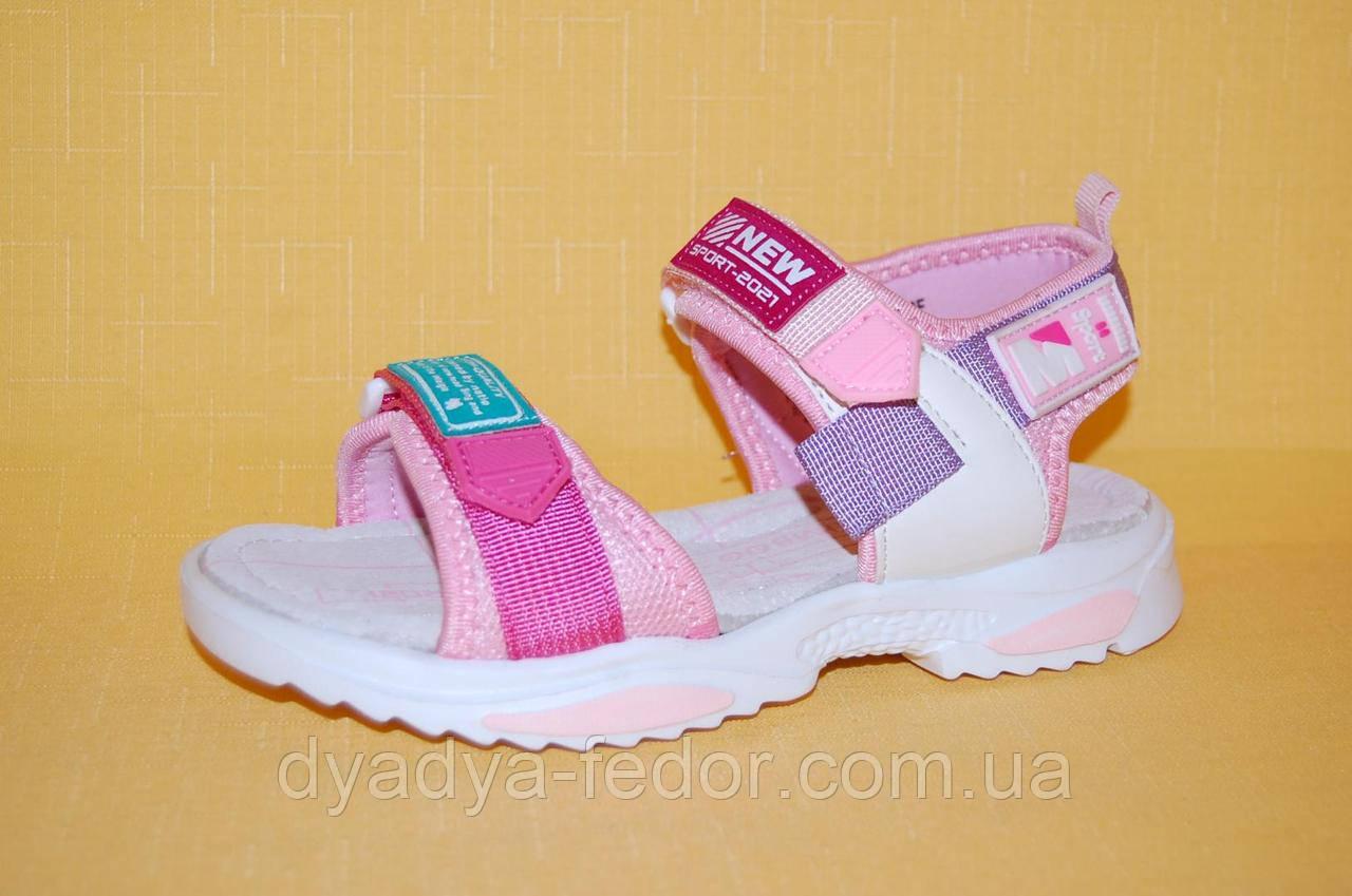 Детские Босоножки Kimboo Китай 94603 Для девочек Розовый размеры 32_37