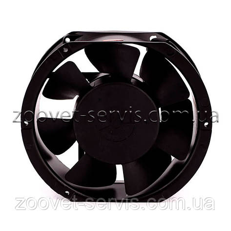 Осьовий вентилятор ( 2600 об/хв.) овал, фото 2