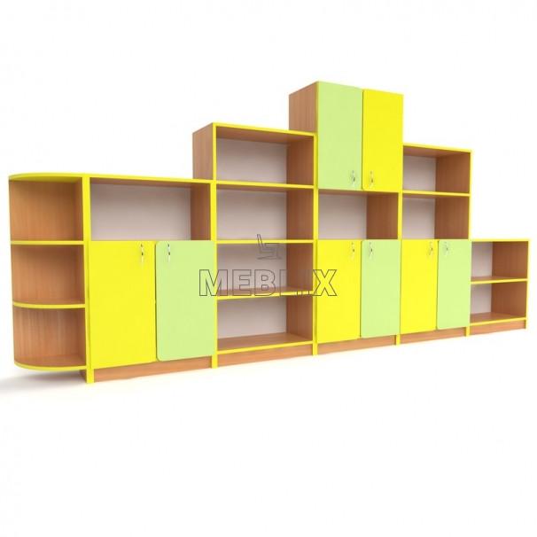 Школьная стенка для начальных классов и дидактических материалов ➨ СТАНДАРТ ✅