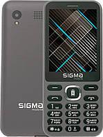 Мобильный телефон с функцией Power Bank, Sigma Mobile X-style 31 Power - Grey (Серый), фото 1