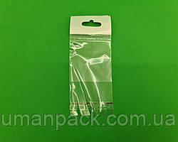 Пакет прозорий поліпропіленовий + скотч 5*5+4\25мк +скотч(+еврослот3,5) (1000 шт)заходь на сайт Уманьпак