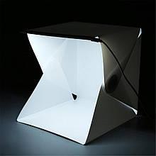 Складной короб со светодиодной подсветкой для фотосъемки