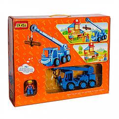Конструктор с крупными блоками Строительная техника 881116