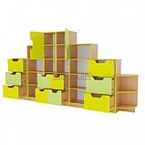 Шкільна стінка для документів та дидактичних матеріалів ➨ ОЛІМП пряма✅, фото 3