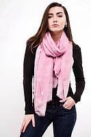 Тонкий шарф Fashion Асия из вискозы 180*80 см розовый